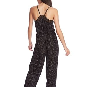 1. State Pants & Jumpsuits - [1.STATE] Lace-Trimmed Camisole Jumpsuit